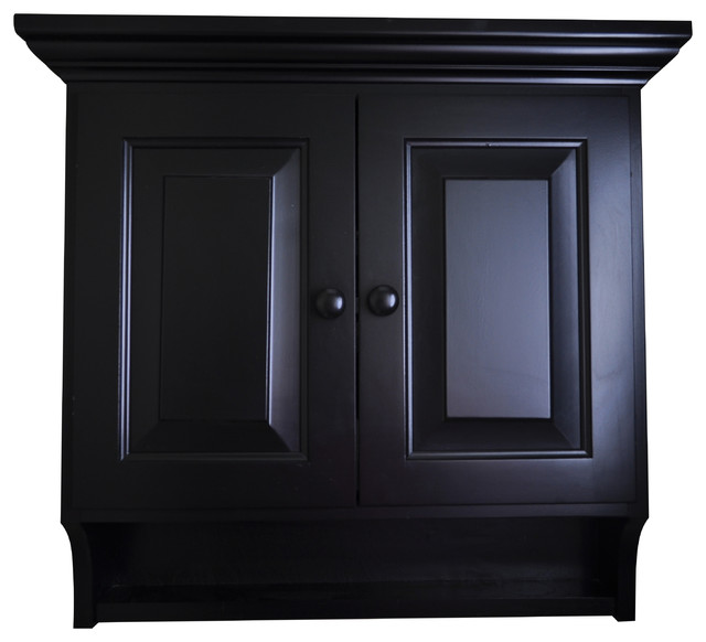 Black Medicine Cabinet, Amish American Made, Solid Brown Maple Wood, Black  Paint traditional - Black Medicine Cabinet, Amish American Made, Solid Brown Maple