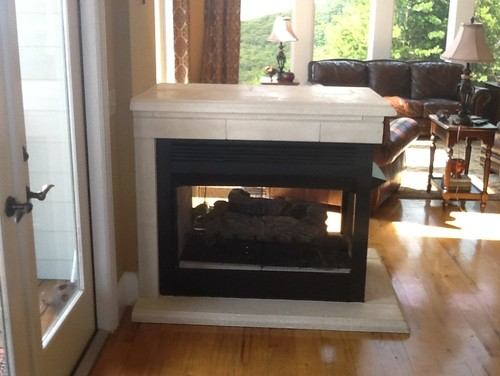 Freestanding Fireplace Dilemma