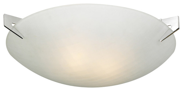 Contempo 2-Light Ceiling-Light, A19 Bulb.