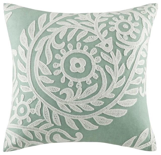 "Harbor House Miramar Square Pillow, Set Of 2, 18x18""."