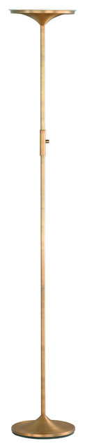 Sheaf Floor Lamp, Natural Reed Finish