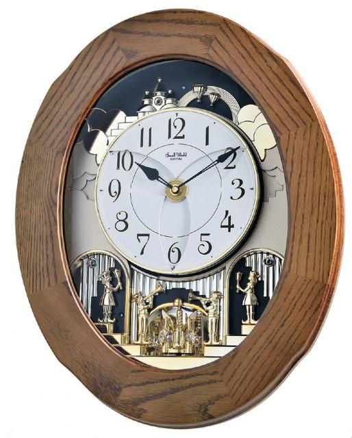 Rhythm Small World Musical Motion Wall Clock Joyful