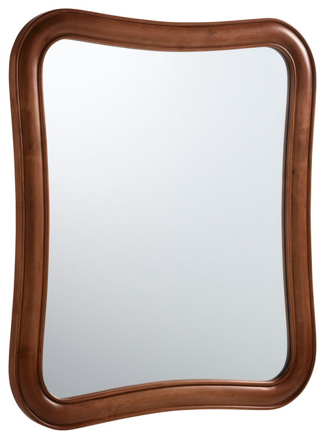 cherry wood bathroom mirror ronbow vintage fancy solid wood framed bathroom mirror 17735