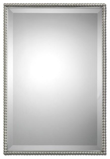 Sherise Brushed Nickel Mirror.