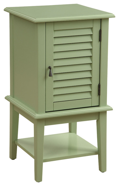 Acme Hilda Accent Cabinet, Light Green