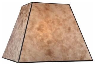 Square Mica Lamp Shade, SH9586   Rustic   Lamp Shades   By Destination  Lighting