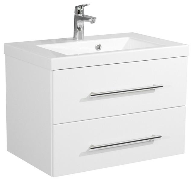 Emotion Infinity 700 Bathroom Furniture, White High-Gloss, 70.4 cm, White High-G