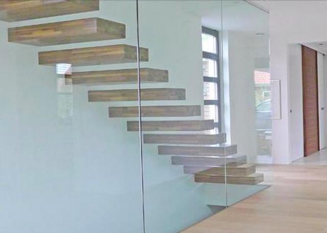 kragarmtreppen modern treppenhaus k ln von arcus. Black Bedroom Furniture Sets. Home Design Ideas