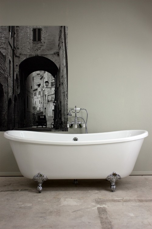 What do you think of an acrylic bath tub for Acrylic vs porcelain tub