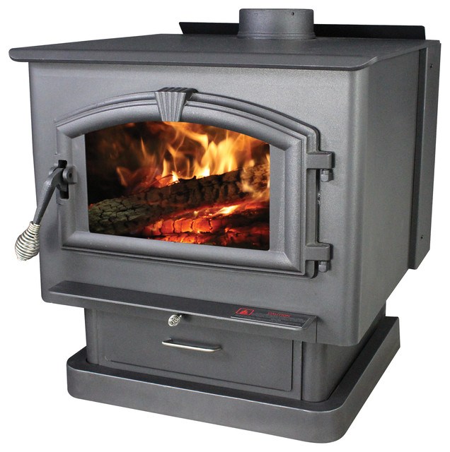 Shop Houzz United States Stove Company Extra Large Epa Certified Wood Stove Freestanding Stoves