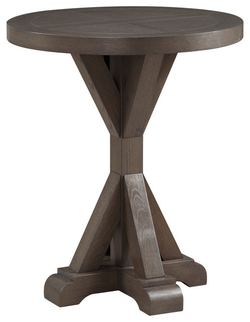 Westbrook Round End Table.