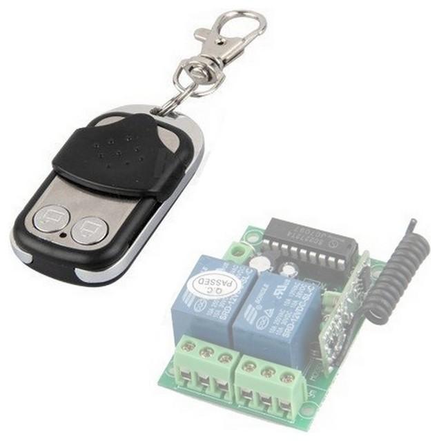 Aleko Remote Control Transmitter For Universal Garage Door