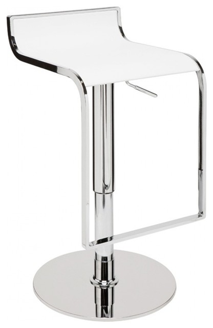 Marvelous 33 Tall Adjustable Bar Stool Faux Leather Seat Chrome Finished Steel Base Pdpeps Interior Chair Design Pdpepsorg