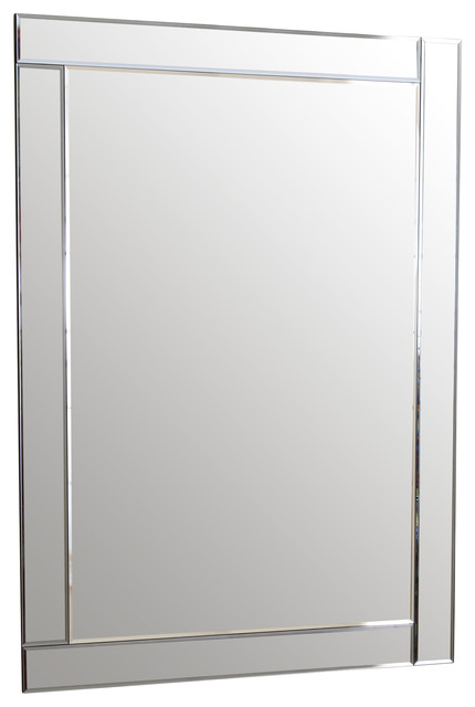 Omni Rectangle Wall Mirror.