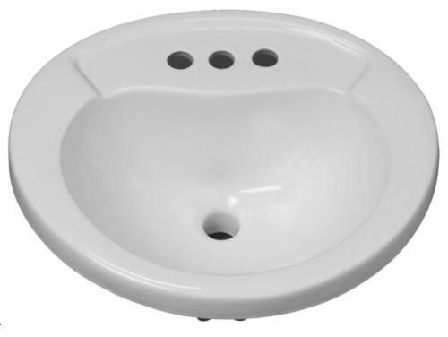Mirabelle Mirpr454 Provincetown 20 Porcelain Drop In Bathroom Sink.