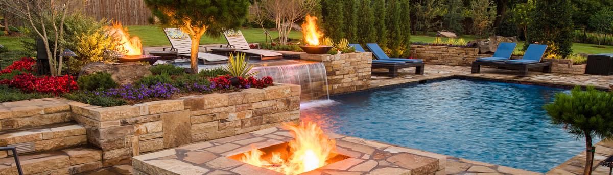 Caviness landscape design inc arcadia ok us 73007 for Pool kings design