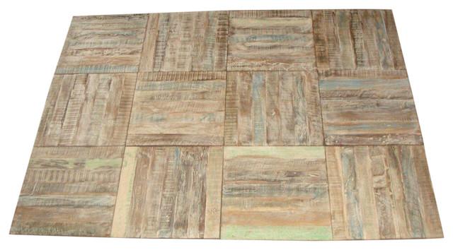 Reclaimed Wood Flooring Tiles