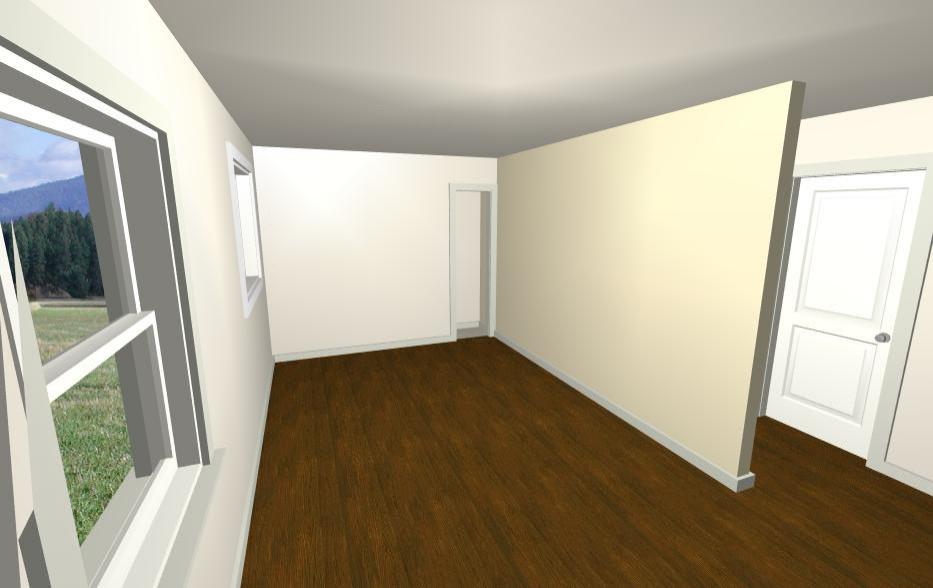 Washroom Area Before
