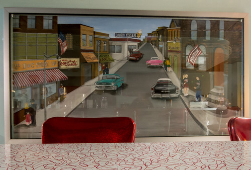 Room of the Day: A 1950s Diner & Drive-In Right at Home