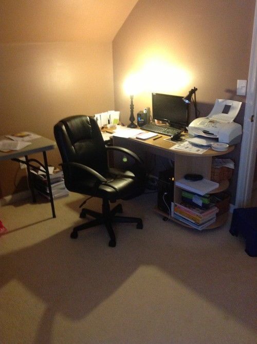 Small bedroom computer room ideas for Decorating ideas for computer room