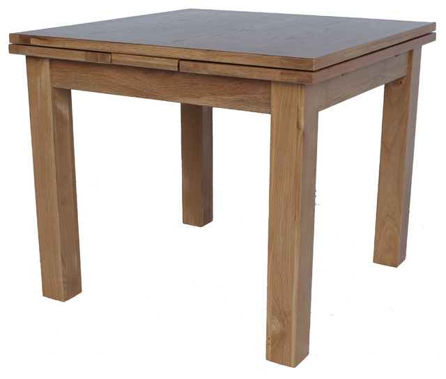 Vancouver Extendable Square Table 1600 Transitional Dining Tables By Trithi Company Inc
