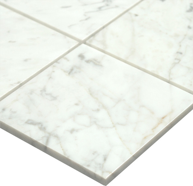 6 Quot X6 Quot Bianco Carrara Polished Kitchen And Bathroom Marble