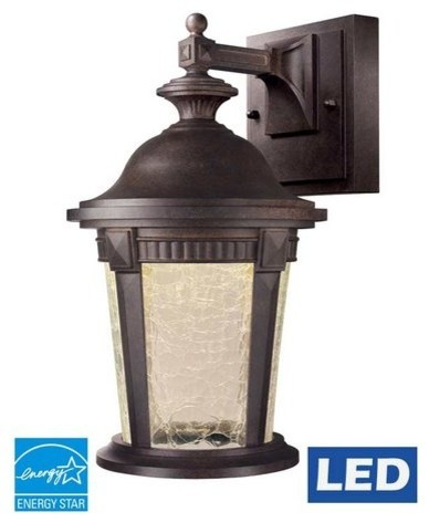 Designers Fountain Led22021-Mbz Outdoor Wall Light In Mystic Bronze.