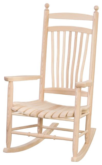 Ash Breezy Acres Fanback Rocking Chair