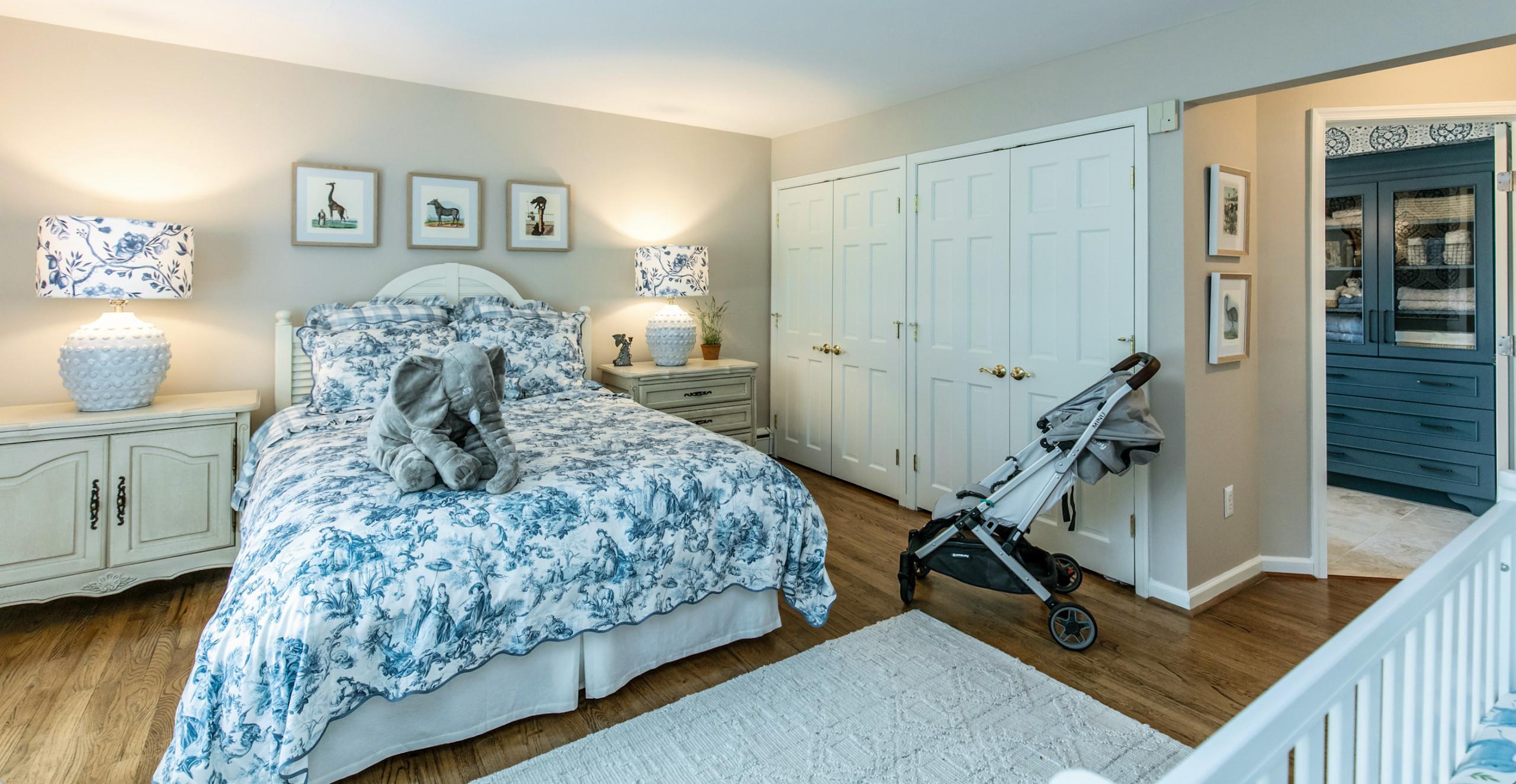 Haddonfield, NJ -  Guest / Baby's Room and Bathroom