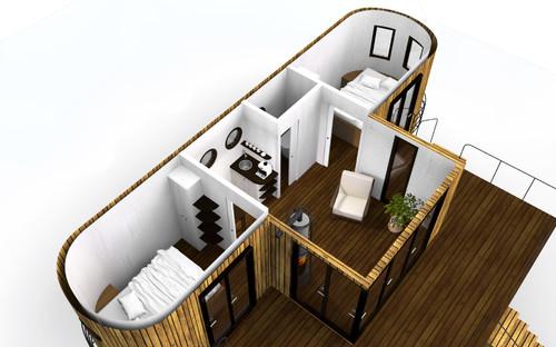 Auf 25qm autark wohnen: der Wohnwagon macht es möglich!