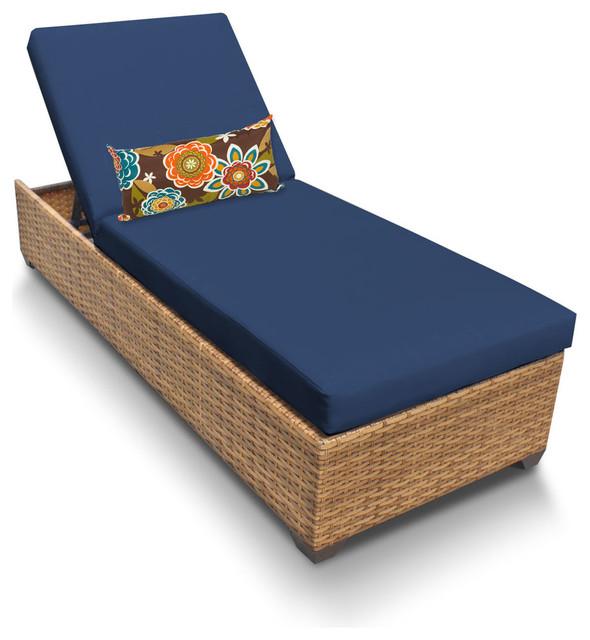 Laguna Chaise Outdoor Wicker Furniture.