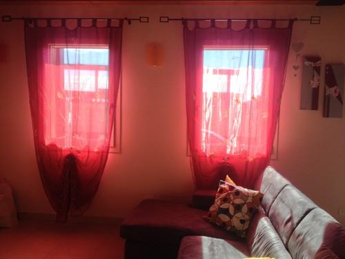 Cambiare tende soggiorno - Tende colorate ikea ...