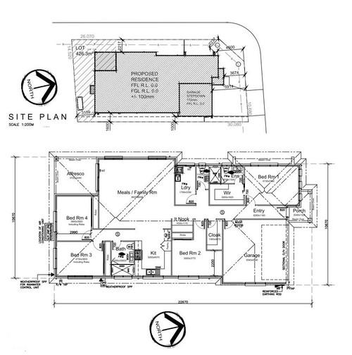 Feedback On Floor Plan (single Level Corner House)
