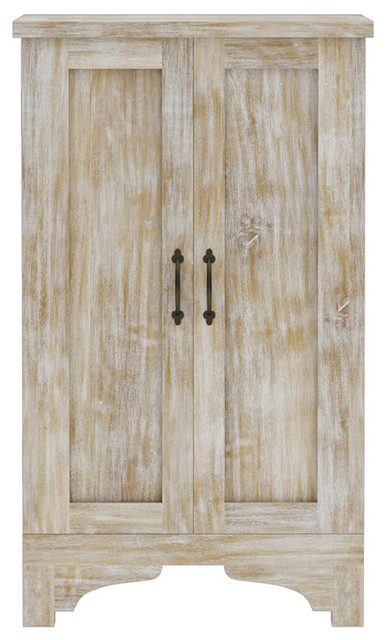Gothic Rustic Winter White Mango Wood Jewelry Armoire Farmhouse Jewelry Armoires By Sierra Living Concepts