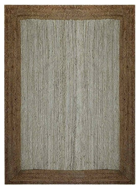 Rugsotic Carpets Hand Woven Jute 3 X5 Eco Friendly Area Rug