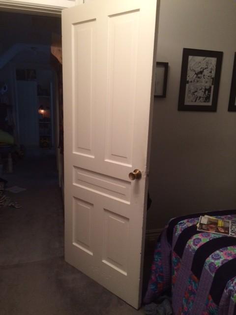 Converting A Regular Door To A Barn Door