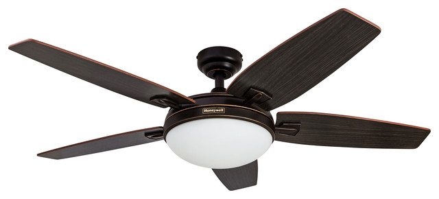 Canbury Indoor Ceiling Fan, Oil Rubbed Bronze.