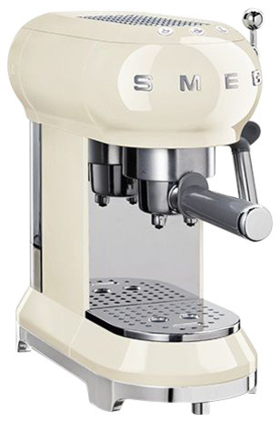 Smeg Espresso Coffee Machine, Cream