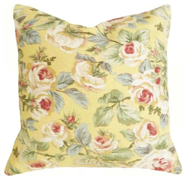 Eclectic Mix Of Pillows : Spring Pillow Collection - Eclectic - Decorative Pillows - Vancouver - by PillowThrowDecor