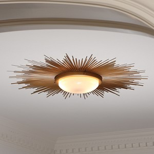 Sunburst Light Fixture contemporary bathroom lighting and vanity lighting