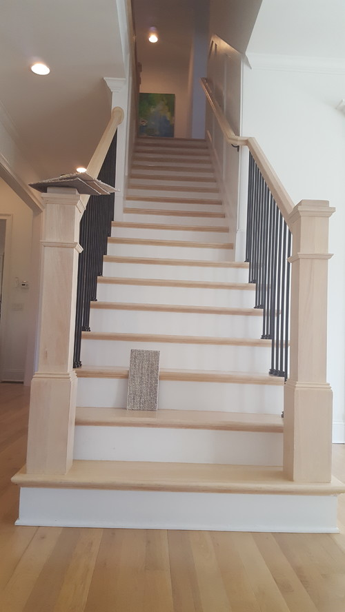 Finishing Carpet Stair Runner