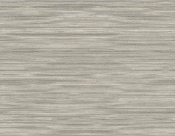 Bondi Grey Grasscloth Texture Wallpaper