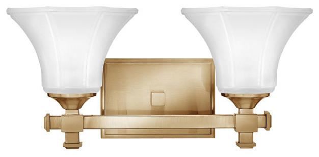 Portfolio 3 Light 22 In Brushed Nickel Bowl Vanity Light: Abbie Bathroom Vanity Light