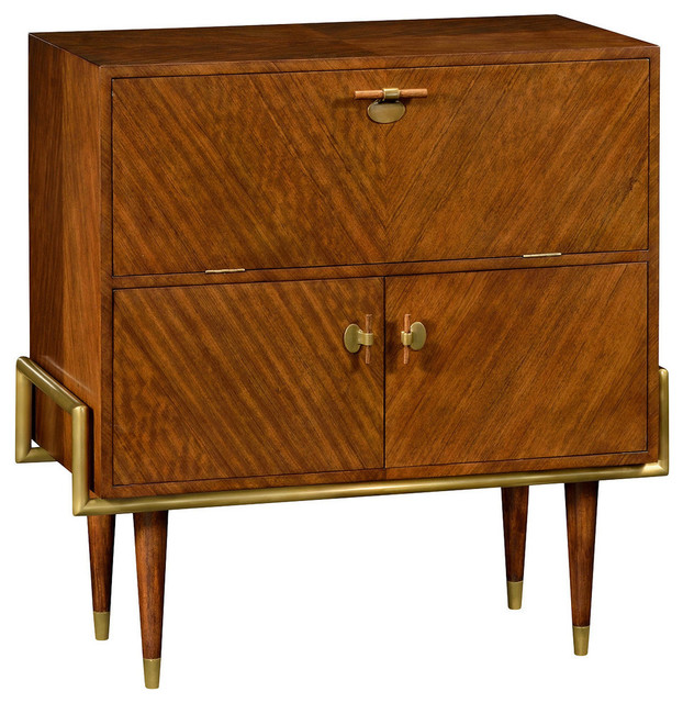 Drinks Cabinet, Hyedua - Midcentury - Wine And Bar Cabinets - by Design to the Trade