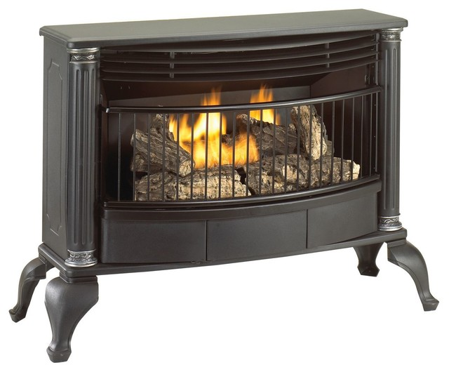 Cedar Ridge Hearth Ventless Natural Gas Or Liquid Propane Stove