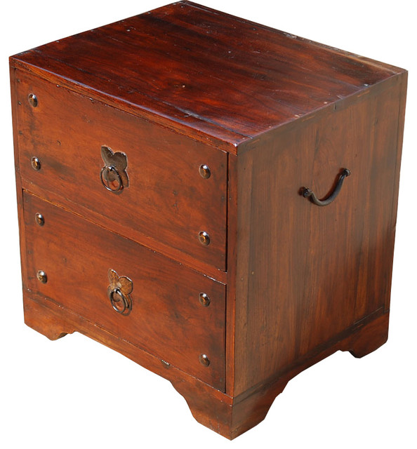 Camelot 2 Drawer Cabinet End Table Traditional Nightstands And Bedside