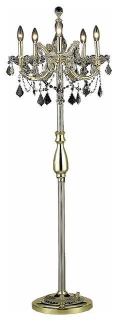 Ashley Contemporary Metal Floor Lamp, Black