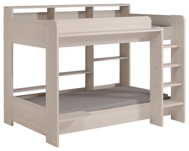 Higher Bunk Twin Over Twin Bed.