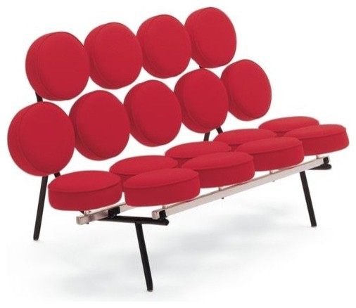 Modern Icon: George Nelson\'s Marshmallow Sofa