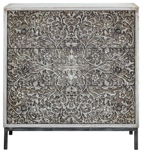 Marina Carved Accent Chest